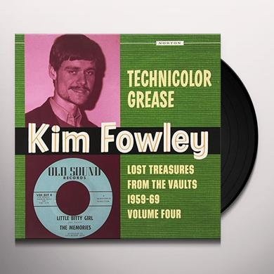 Kim Fowley TECHNICOLOR GREASE Vinyl Record