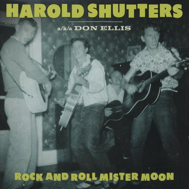 Harold Shutters ROCK & ROLL MISTER MOON Vinyl Record