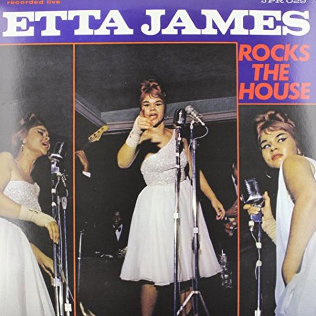 Etta James ROCKS THE HOUSE Vinyl Record