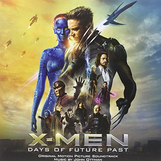 X-Men: Days Of Future Past / O.S.T. (Ltd) (Ogv) X-MEN: DAYS OF FUTURE PAST / O.S.T. Vinyl Record - Limited Edition, 180 Gram Pressing