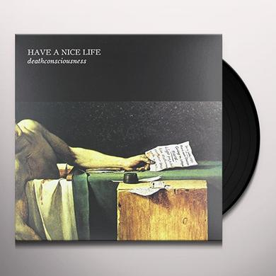 Have A Nice Life DEATHCONSCIOUSNESS (W/BOOK) Vinyl Record