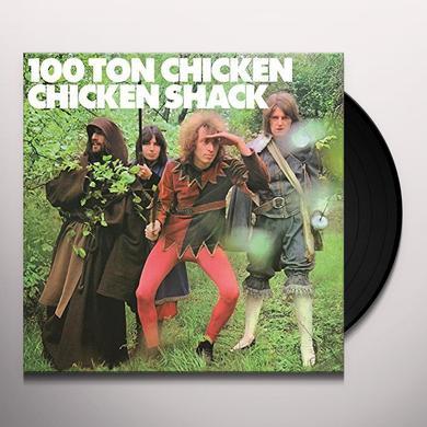 Chicken Shack 100 TON CHICKEN Vinyl Record - Holland Import