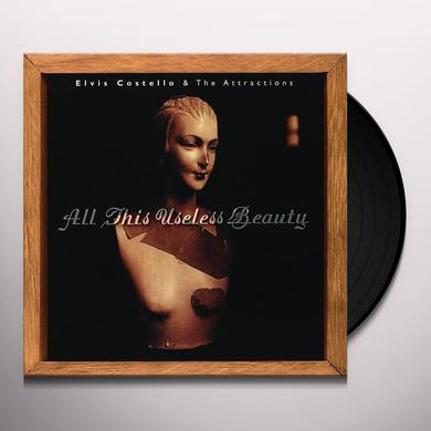 Elvis Costello & The Attractions ALL THIS USELESS BEAUTY Vinyl Record - Holland Release