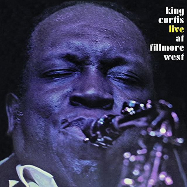 King Curtis LIVE AT FILLMORE QWEST Vinyl Record