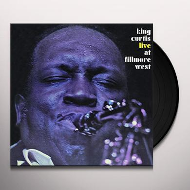 King Curtis LIVE AT FILLMORE QWEST Vinyl Record - Holland Import