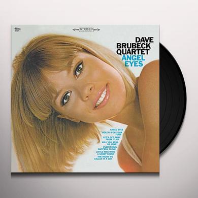 Dave Brubeck ANGEL EYES Vinyl Record - Spain Import