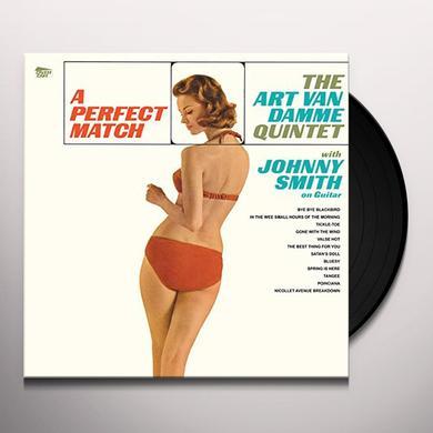 Art Van Damme PERFECT MATCH Vinyl Record - Spain Import