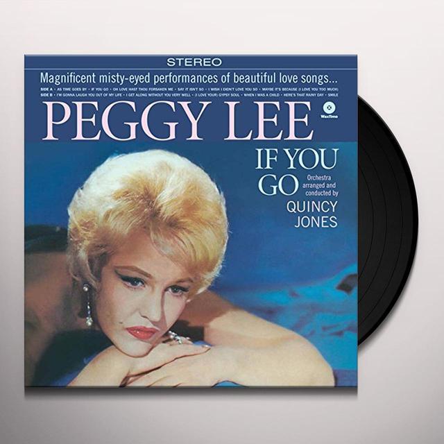 Peggy Lee & Quincy Jones IF YOU GO Vinyl Record - Spain Release