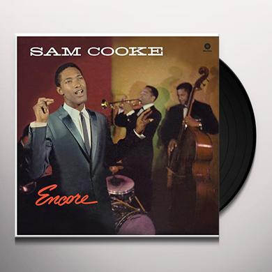 Sam Cooke ENCORE Vinyl Record - Spain Import
