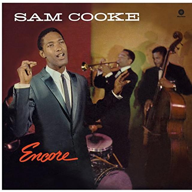 Sam Cooke ENCORE Vinyl Record - Spain Import