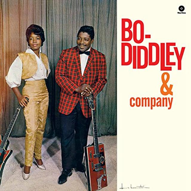 Bo Diddley & COMPANY Vinyl Record - Spain Import