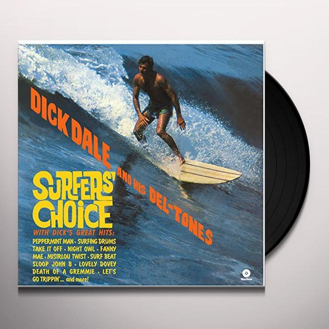 Dick Dale & His Del-Tones SURFER'S CHOICE Vinyl Record - Spain Import