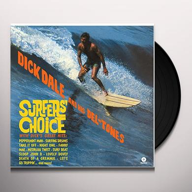 Dick / His Del-Tones Dale SURFER'S CHOICE Vinyl Record - Spain Release