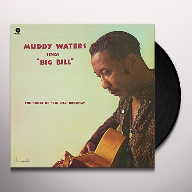 Muddy Waters SINGS BIG BILL BROONZY Vinyl Record - Spain Import