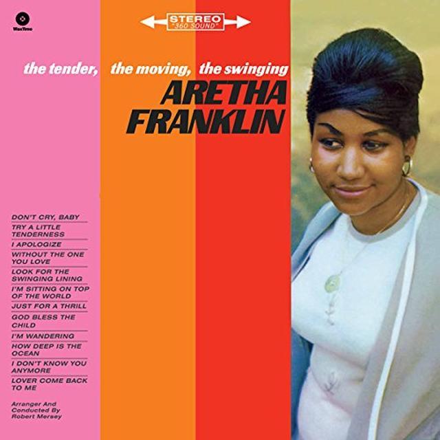 Aretha Franklin TENDER MOVING SWINGING Vinyl Record