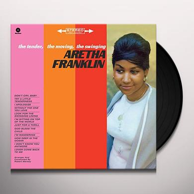 Aretha Franklin TENDER MOVING SWINGING Vinyl Record - Spain Release