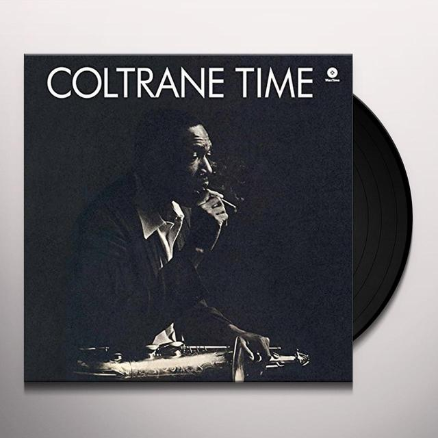 John Coltrane COLTRANE TIME Vinyl Record - Spain Import