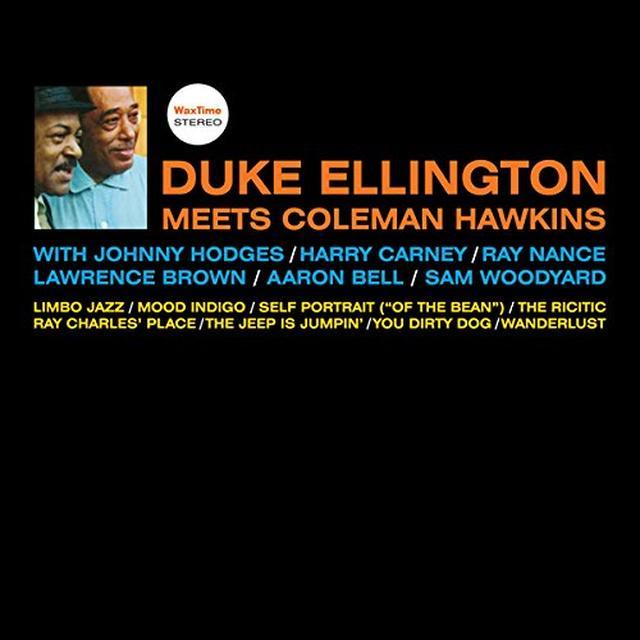 DUKE ELLINGTON MEETS COLEMAN HAWKINS Vinyl Record