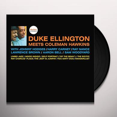 DUKE ELLINGTON MEETS COLEMAN HAWKINS Vinyl Record - Spain Import