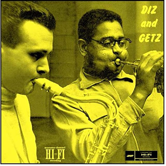 Dizzy Gillespie & Stan Getz DIZ & GETZ Vinyl Record