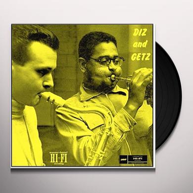 Dizzy Gillespie & Stan Getz DIZ & GETZ Vinyl Record - Spain Import