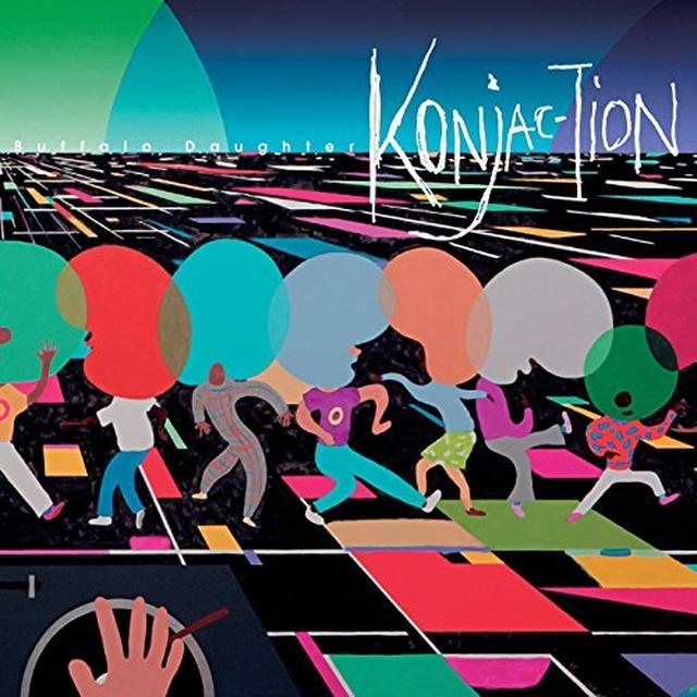 Buffalo Daughter KONJAC TION Vinyl Record - UK Import