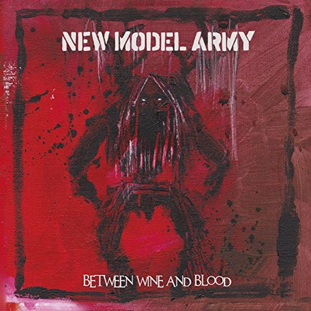 New Model Army BETWEEN WINE & BLOOD Vinyl Record - UK Import