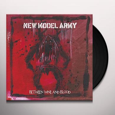 New Model Army BETWEEN WINE & BLOOD Vinyl Record - UK Import