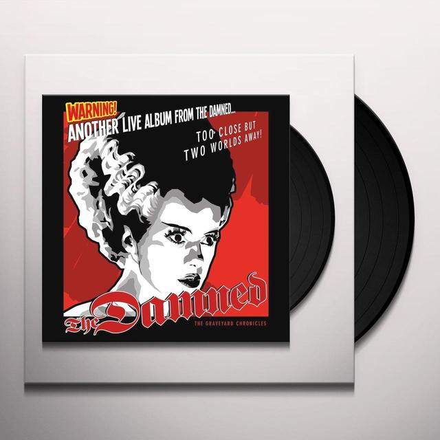 ANOTHER LIVE ALBUM FROM THE DAMNED Vinyl Record - UK Import