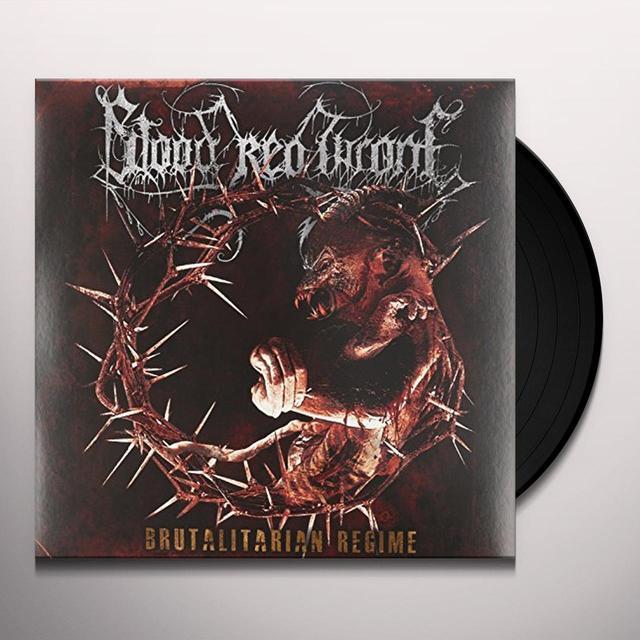 Blood Red Throne BRUTALITARIAN REGIME Vinyl Record