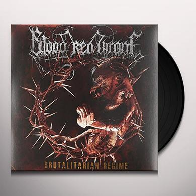Blood Red Throne BRUTALITARIAN REGIME Vinyl Record