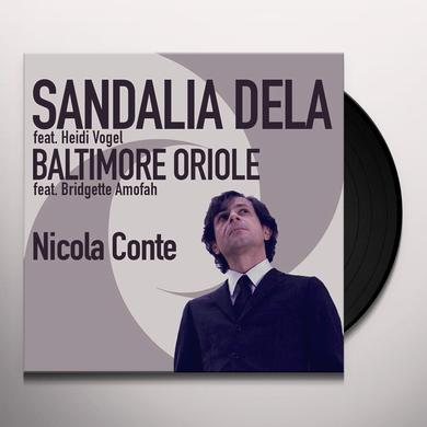 Nicola Conte SANDALIA DELA-BALTIMORE ORIOLE Vinyl Record - Italy Import