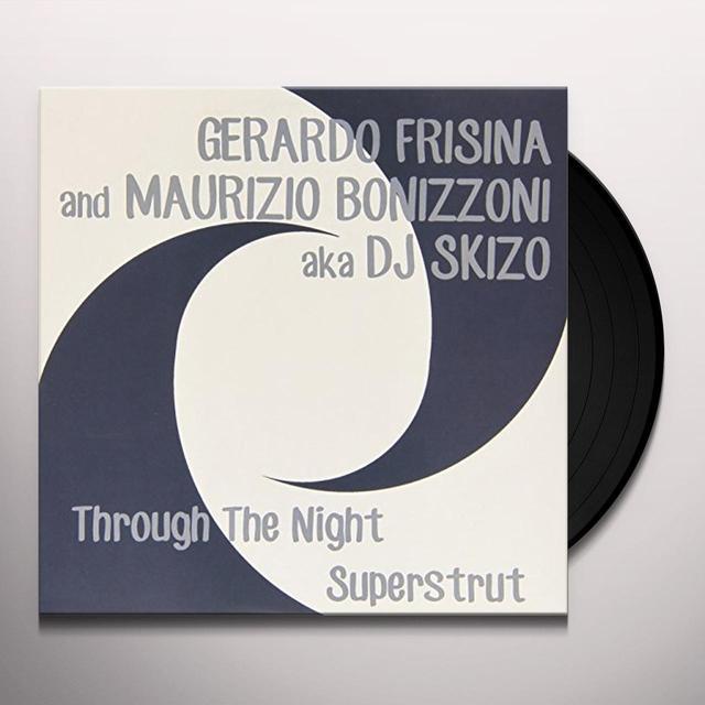 Gerardo Frisina & Bonizzoni Maurizio THROUGH THE NIGHT-SUPERSTRUT Vinyl Record