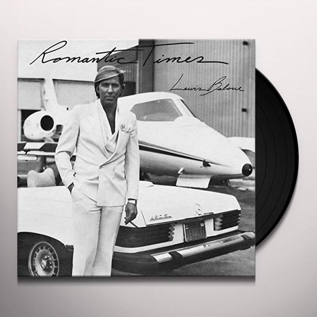 Louis Baloue ROMANTIC TIMES Vinyl Record