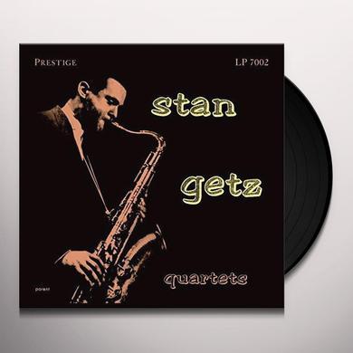 STAN GETZ QUARTETS Vinyl Record