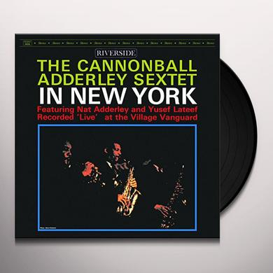 Cannonball Adderley IN NEW YORK Vinyl Record - Limited Edition, Reissue