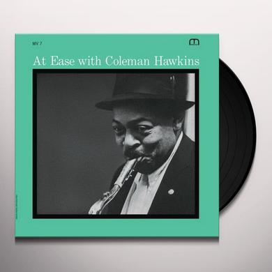 AT EASE WITH COLEMAN HAWKINS Vinyl Record - Reissue
