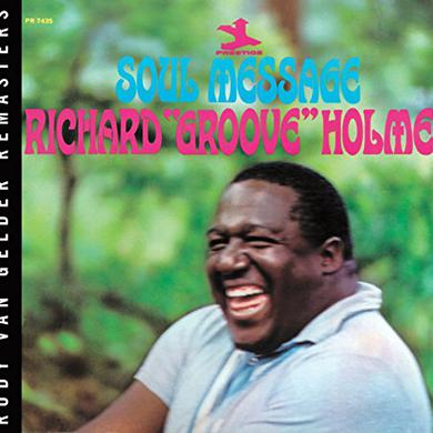 Richard Groove Holmes SOUL MESSAGE Vinyl Record
