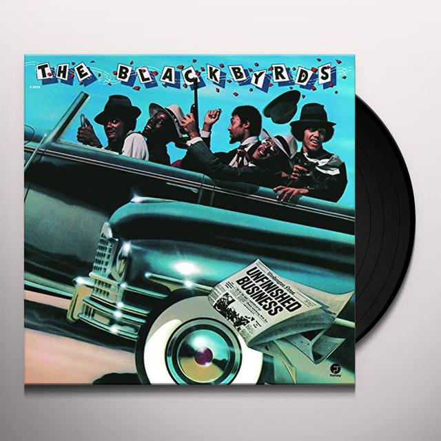 Blackbyrds UNFINISHED BUSINESS Vinyl Record