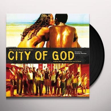 Antonio Pinto / Cortes,Ed (Ogv) CITY OF GOD / O.S.T. Vinyl Record - 180 Gram Pressing