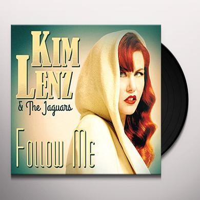 Kim Lenz & Jaguars FOLLOW ME Vinyl Record