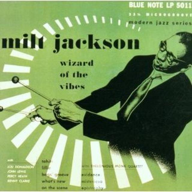 Milt Jackson WIZARD OF THE VIBES Vinyl Record