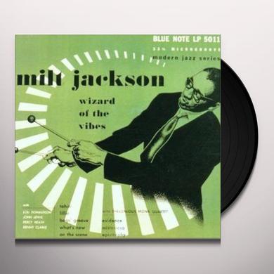 Milt Jackson WIZARD OF THE VIBES Vinyl Record