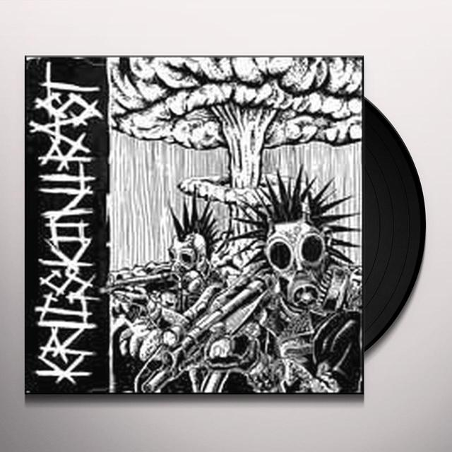 Krigskontrast / Skiplickers SPLIT Vinyl Record