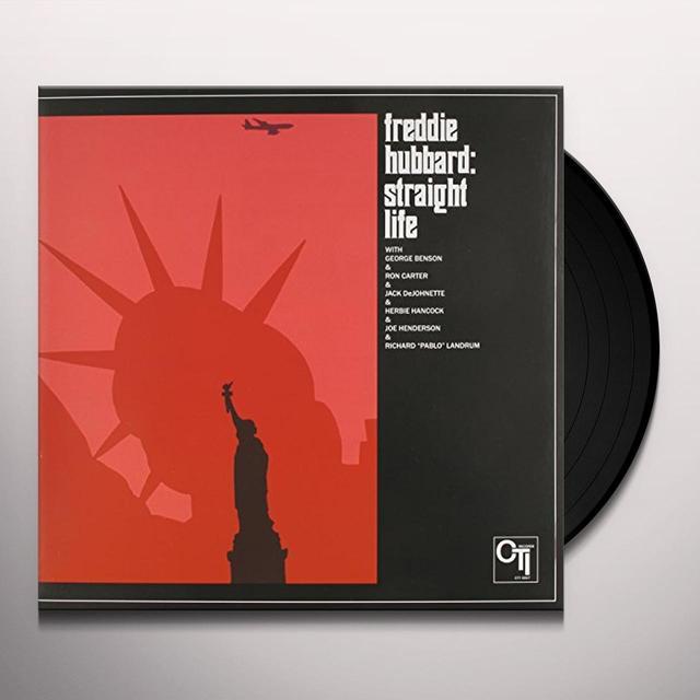 Freddie Hubbard STRAIGHT LIFE Vinyl Record