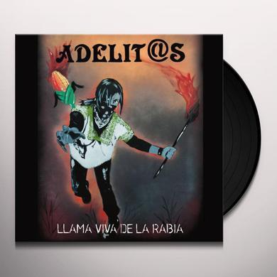 Adelitas LLAMA VIVA DE LA RABIA Vinyl Record