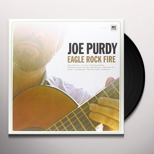 Joe Purdy EAGLE ROCK FIRE Vinyl Record