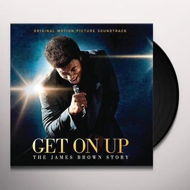 GET ON UP: THE JAMES BROWN STORY - SOUNDTRACK Vinyl Record