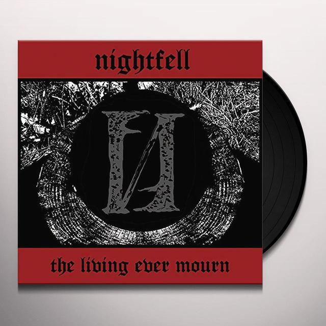Night Fell LIVING EVER MOURN Vinyl Record