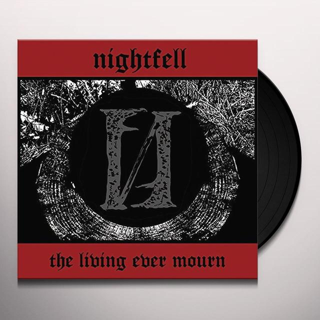 Night Fell LIVING EVER MOURN Vinyl Record